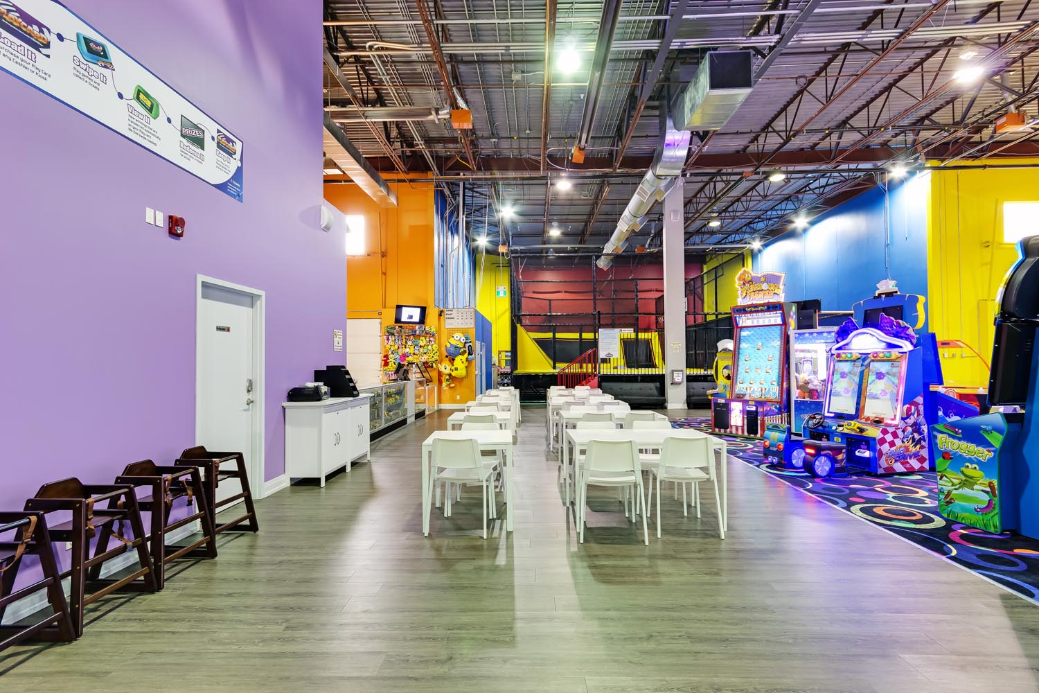 Arcade Games at Playtopia Indoor Playground