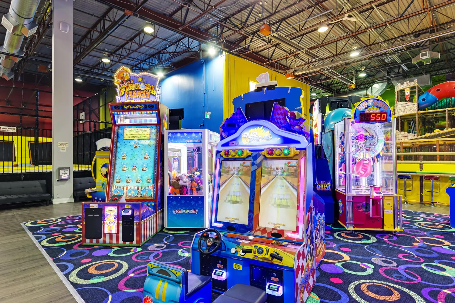 Arcade Games With Loads of Prizes!