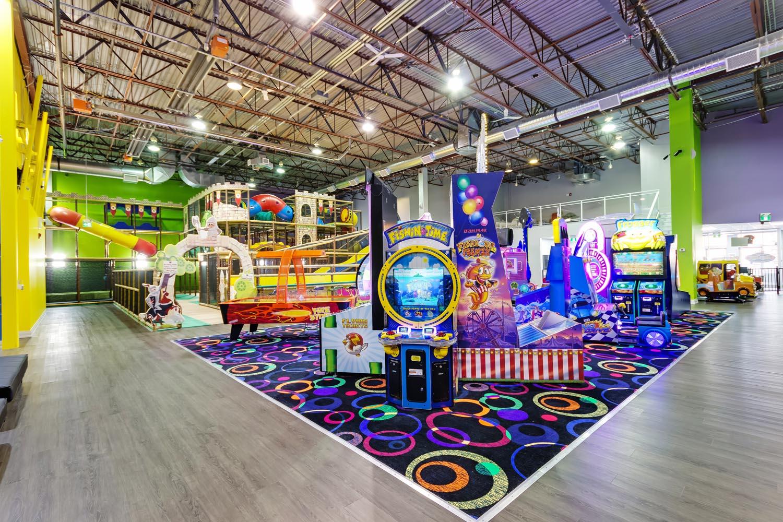 Indoor Jungle Gym, Trampolines, & Arcade Games