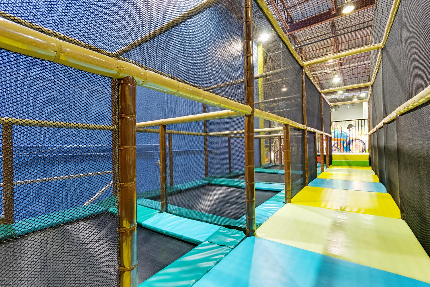 15,000 sqft of Family Fun at Playtopia Indoor Playground