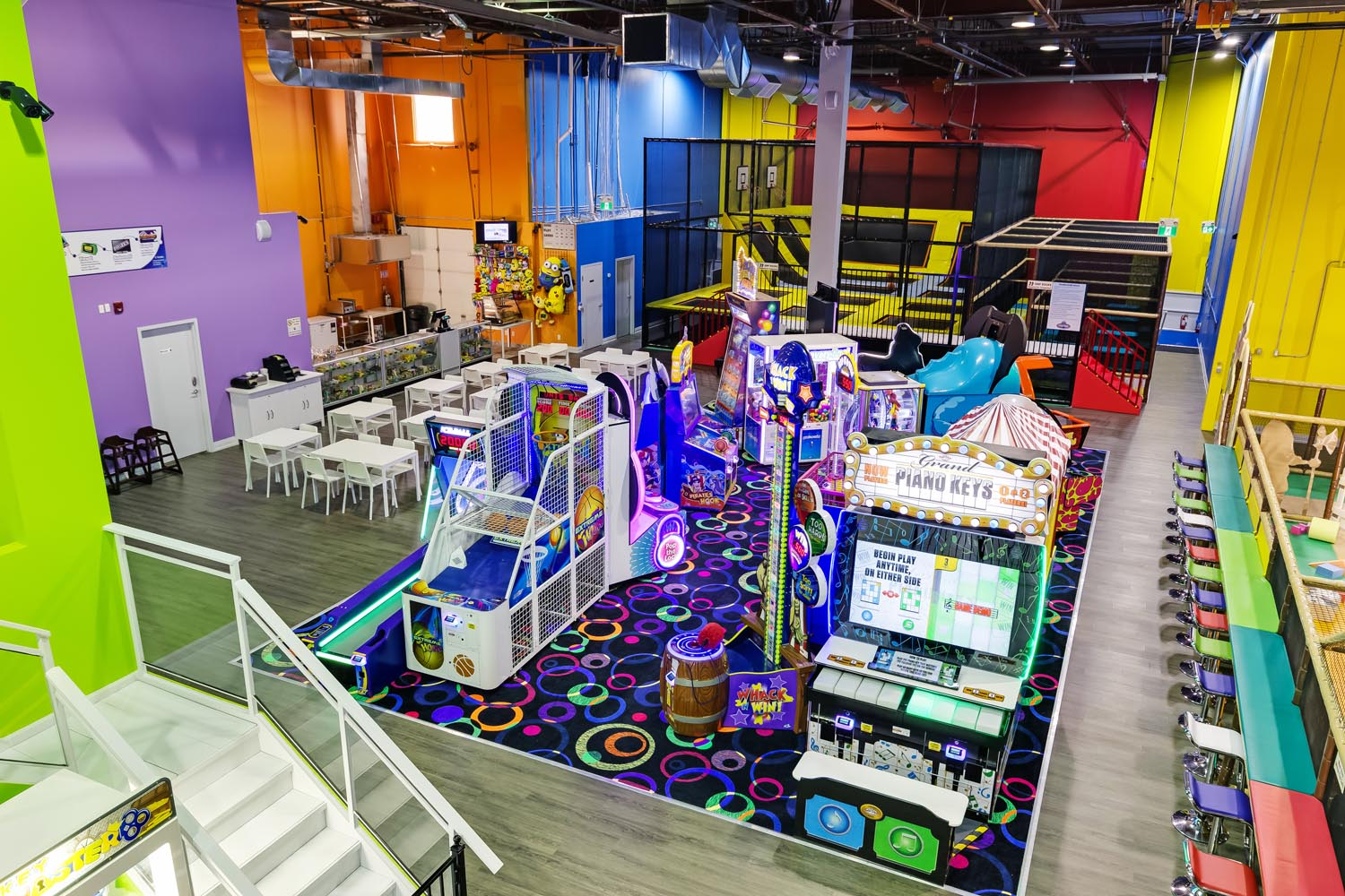 Kids Indoor Playground, Arcade Games, & Trampolines