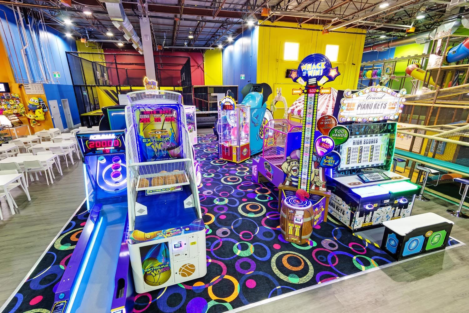 Arcade for Kids at Playtopia Indoor Playground Toronto