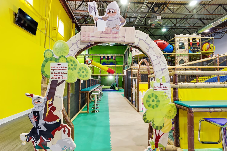 Kids Indoor Playground in Toronto