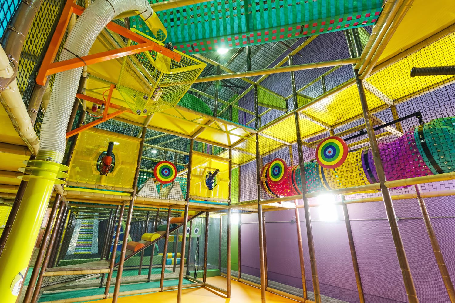 Playtopia Indoor Jungle Gym in Toronto