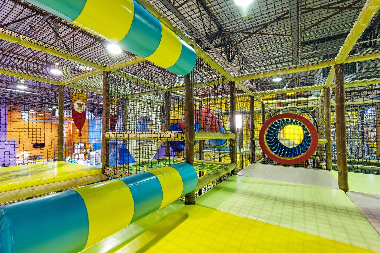 Indoor Jungle Gym & Indoor Playground - Playtopia